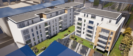 Projet de 72 logements à Rouen