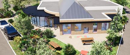 Projet de la construction d'une salle des associations, accueil de jour et assistante maternelle