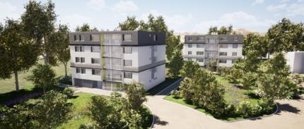 Réhabilitation thermique et technique de deux bâtiments, 32 logements à Serquigny